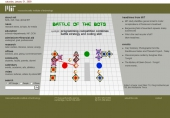 programming competition combines battle strategy and coding skill
