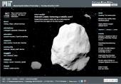 Asteroid Lutetia: harboring a metallic core?
