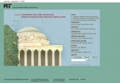Constitution Day video lecture and research projects bring American history to life
