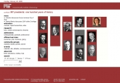 MIT presidents: one hundred years of history