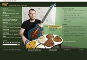 karma chameleon changeable guitar blends old-world and high-tech