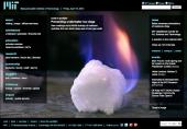 Preventing underwater ice clogs