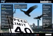 Fast fliers observe a speed limit